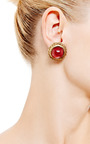 House of Lavande - Chanel Gold Rope Clip On Earrings