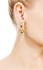 House of Lavande - Christian Dior Clip On Hoop Earrings