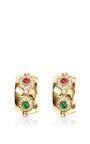Christian Dior Clip On Hoop Earrings by House of Lavande for Preorder on Moda Operandi