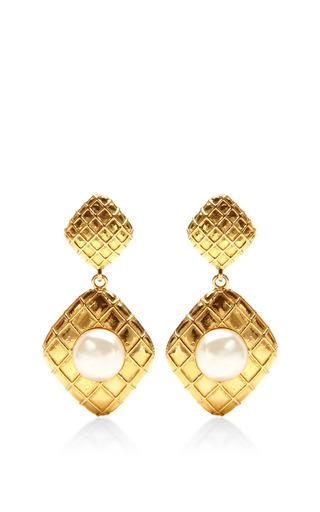 House of Lavande - 1980S Chanel Gold Clip On Earrings