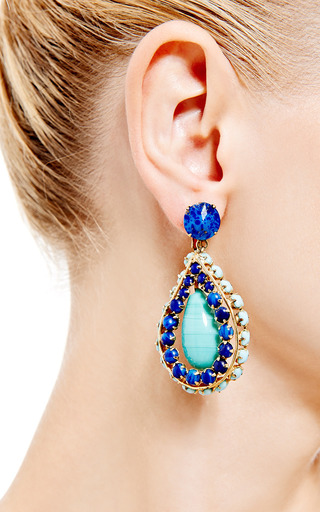 1960S Clip On Earrings by House of Lavande for Preorder on Moda Operandi