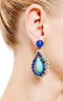 1960 S Clip On Earrings by HOUSE OF LAVANDE for Preorder on Moda Operandi