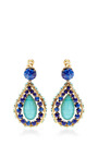 1960S Clip On Earrings by House of Lavande for Preorder on Moda Operandi