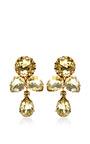 1950S Gold Earrings by House of Lavande for Preorder on Moda Operandi
