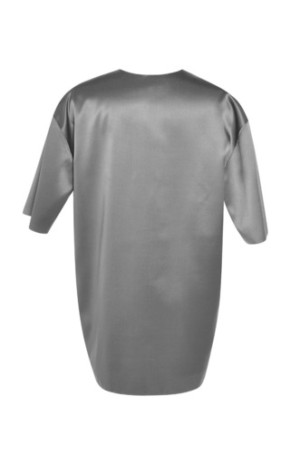 Grey Turquoise Finn T-Shirt by Jonathan Saunders for Preorder on Moda Operandi