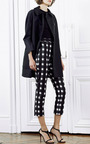Martin Grant - Black White Check Cigarette Cropped Pants