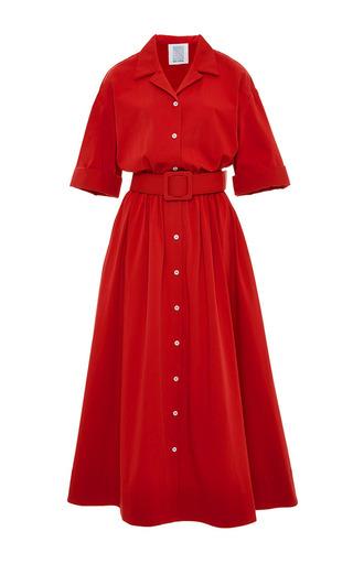 Jane cotton-twill shirtdress by ROSIE ASSOULIN Now Available on Moda Operandi