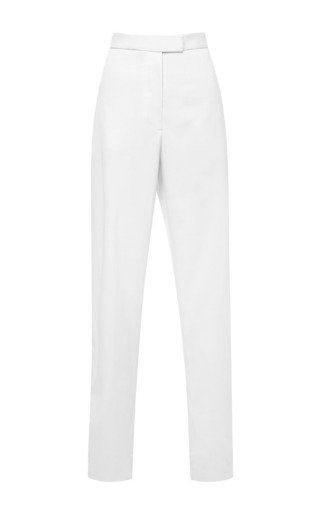 Fluid suiting classic trouser by JOSH GOOT Preorder Now on Moda Operandi