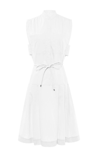 Cotton-poplin shirtdress by TOME Now Available on Moda Operandi