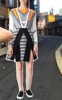 Tanya Taylor - Triangle Jacquard Emmy Skirt