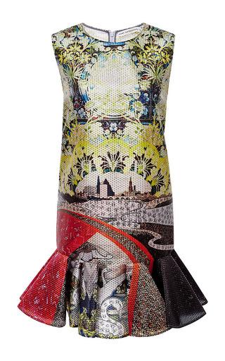 Jaspa pleated-hem jacquard dress by MARY KATRANTZOU Available Now on Moda Operandi