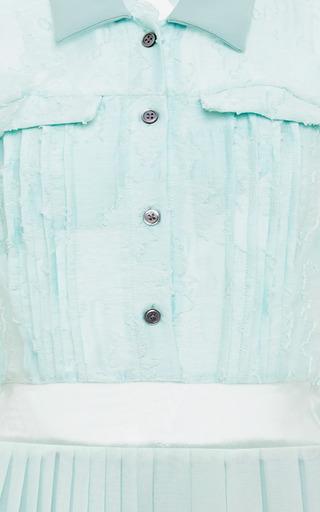 Mint Tabitha Shirt Dress by TIMO WEILAND for Preorder on Moda Operandi