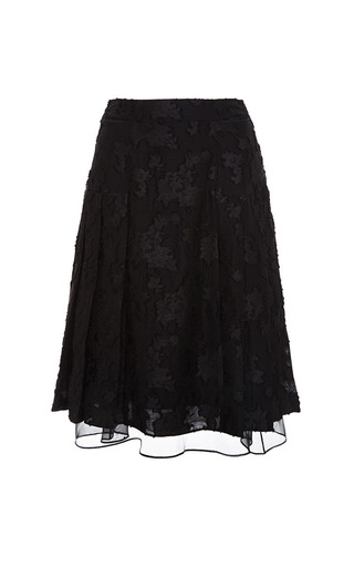 Black Genevieve Skirt by Timo Weiland for Preorder on Moda Operandi