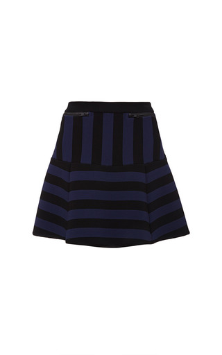 Timo Weiland - Navy And Black Misty Mini Skirt