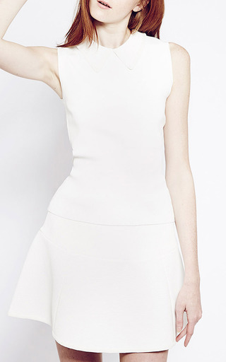 White Misty Mini Skirt by Timo Weiland for Preorder on Moda Operandi