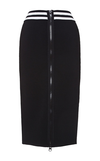 Black And White Francesca Skirt by Timo Weiland for Preorder on Moda Operandi