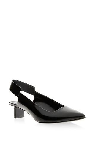 Slingback leather kitten heels by PIERRE HARDY Available Now on Moda Operandi