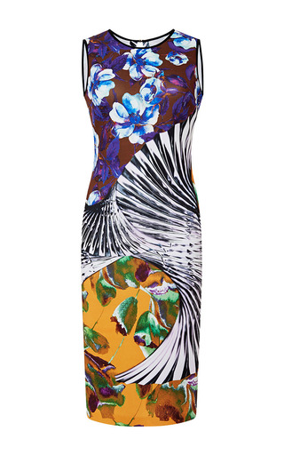 Floral printed tank dress by CLOVER CANYON Available Now on Moda Operandi