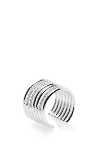 Amour phalanx ring by ELISE DRAY Preorder Now on Moda Operandi