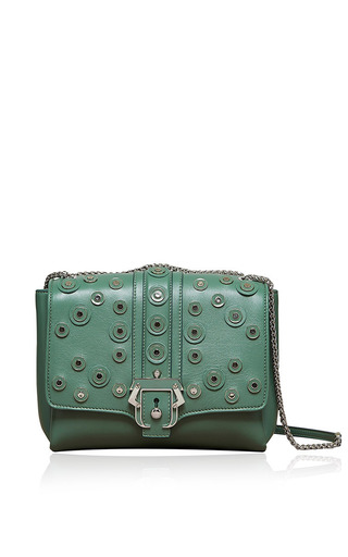 Carine Detailed Shoulder Bag by Paula Cademartori for Preorder on Moda Operandi