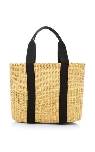 Caba large straw bag by MUUN Available Now on Moda Operandi