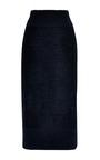 Light Wool Intarsia Needle Punch Print Skirt by Sonia by Sonia Rykiel for Preorder on Moda Operandi
