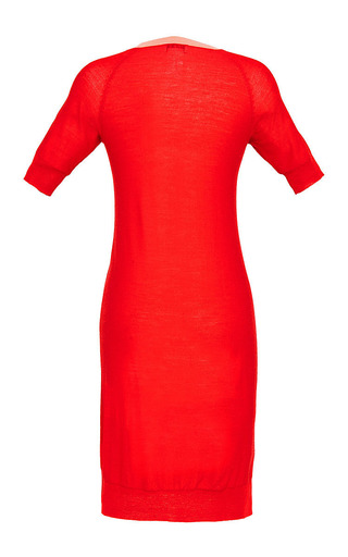 Light Wool Knit Trompe L'Oeil Dress by Sonia by Sonia Rykiel for Preorder on Moda Operandi