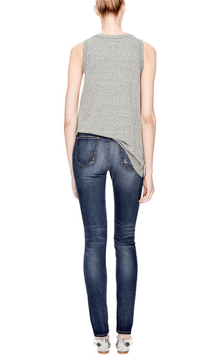 The High Waist Skinny Jeans by Current/Elliott Now Available on Moda Operandi