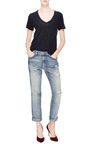 The Fling Distressed Boyfriend Jeans by Current/Elliott Now Available on Moda Operandi