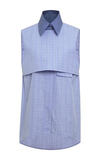 Danube sleeveless combo top by ELLERY Available Now on Moda Operandi