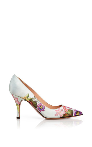 Classy Pump Floral Print by Palter DeLiso for Preorder on Moda Operandi