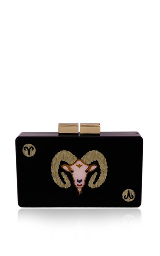 Aries Clutch by Urania Gazelli for Preorder on Moda Operandi
