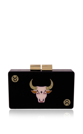 Taurus clutch by URANIA GAZELLI Preorder Now on Moda Operandi