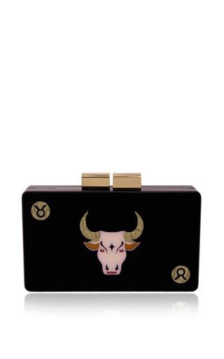 Taurus clutch by URANIA GAZELLI for Preorder on Moda Operandi