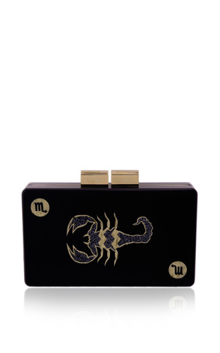 Scorpio clutch by URANIA GAZELLI for Preorder on Moda Operandi
