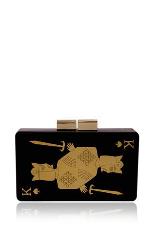 King of spades clutch by URANIA GAZELLI Preorder Now on Moda Operandi
