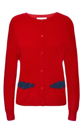 Osman - Cashmere Cloud Cardigan In Red Cashmere