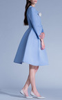 Esme Vie - Sky Blue Princess Midi Coat