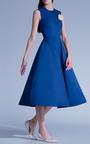 Esme Vie - Marine Blue Full Skirt Maxi Dress