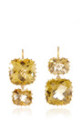 One of a Kind Green Topaz Earrings by Renee Lewis for Preorder on Moda Operandi