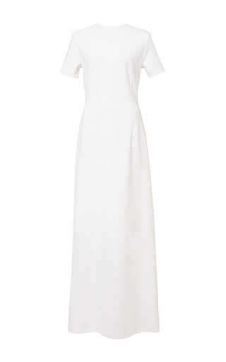 Seamed corset tee gown by KATIE ERMILIO Now Available on Moda Operandi