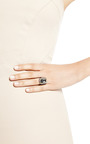 Megatronix Silver, Topaz, And Sapphire Ring by SHE BEE GEM Now Available on Moda Operandi