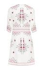 Bella Embroidered Organza Tunic Dress by VILSHENKO for Preorder on Moda Operandi