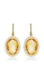 Oval Citrine Earrings by Kothari for Preorder on Moda Operandi