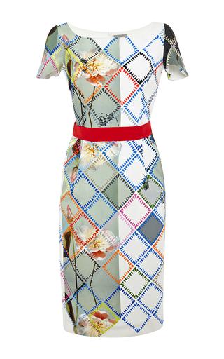 Liberty printed crepe dress by PREEN BY THORNTON BREGAZZI Now Available on Moda Operandi