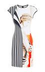 Aphrodite Printed Neoprene Dress by Clover Canyon Now Available on Moda Operandi