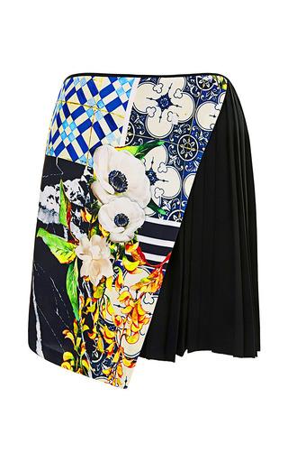Clover Canyon - Greek Tiles Paneled Shorts