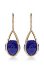 Cage Lapis Earrings by SUSAN FOSTER for Preorder on Moda Operandi
