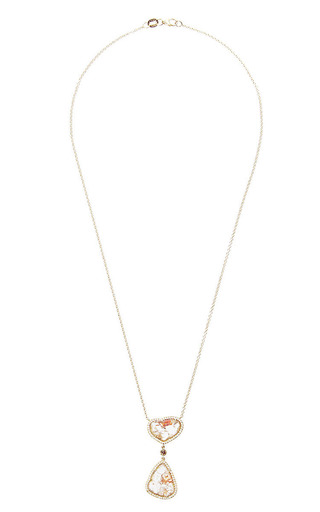 Susan Foster - One Of A Kind Double Drop Necklace