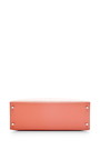 Hermes 35 Cm Flamingo Pink Epsom Sellier Kelly by HERITAGE AUCTIONS SPECIAL COLLECTION for Preorder on Moda Operandi